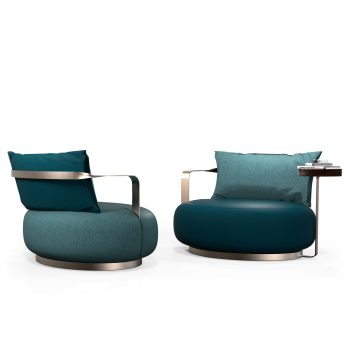 ARMCHAIRS AND DORMEUSE