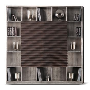 BOOKCASES AND TV HOLDER